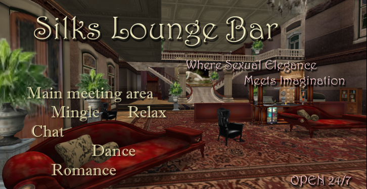 Silk Whispers Lounge Bar - Perfect meeting place - Dance & Romace