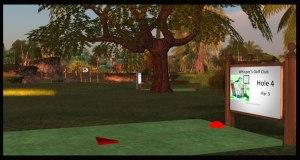 WGC Hole 4 Tee Golf Course
