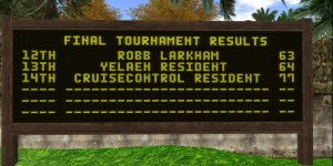 Tournament Scoreboard 3
