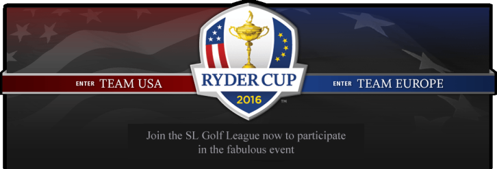 Second Life Ryder Cup